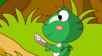 小青蛙出门